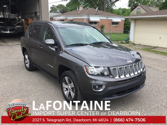 2017 Jeep Compass For Sale >> Pre Owned 2017 Jeep Compass High Altitude 4wd