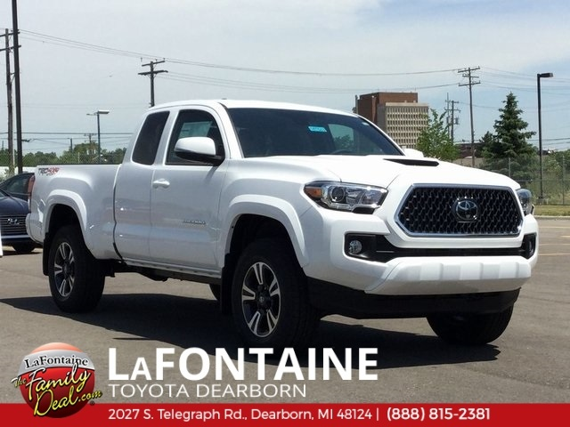 New Toyota Tacoma >> New 2018 Toyota Tacoma Trd Sport For Sale Dearborn Mi Detroit