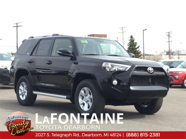 4Runner For Sale >> New 2019 Toyota 4runner Sr5 Premium With Navigation 4wd