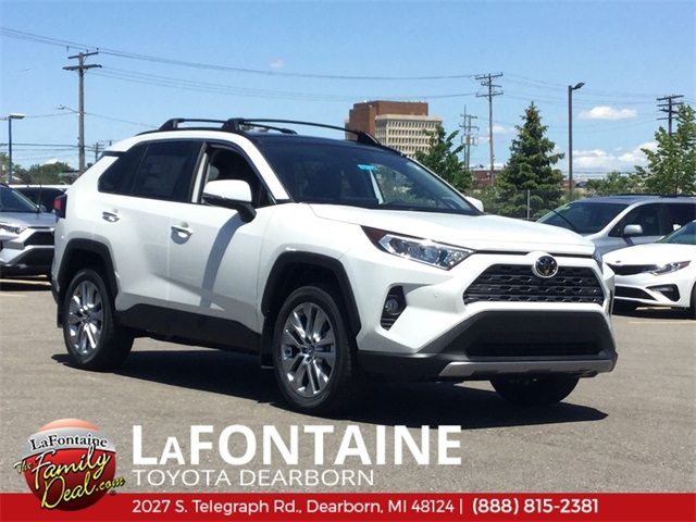 New 2019 Toyota RAV4 Limited FWD 4D Sport Utility