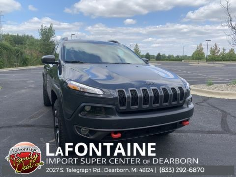 Pre-Owned 2017 Jeep Cherokee Trailhawk 4D Sport Utility 4WD
