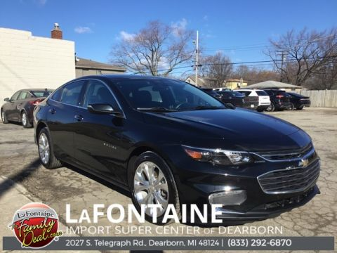 Pre-Owned 2017 Chevrolet Malibu Premier 4D Sedan FWD
