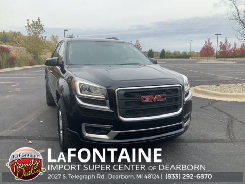 Pre-Owned 2016 GMC Acadia SLE-1 4D Sport Utility FWD