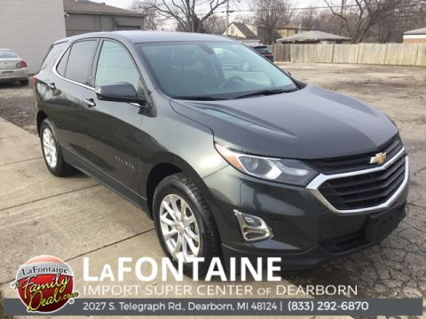 Pre-Owned 2018 Chevrolet Equinox LT 4D Sport Utility FWD