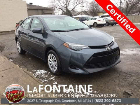 Certified Pre-Owned 2019 Toyota Corolla LE 4D Sedan FWD