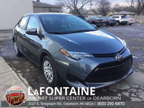 Pre-Owned 2019 Toyota Corolla LE 4D Sedan FWD