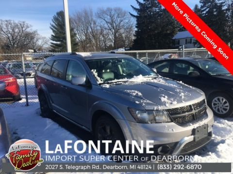 Pre-Owned 2018 Dodge Journey Crossroad 4D Sport Utility AWD