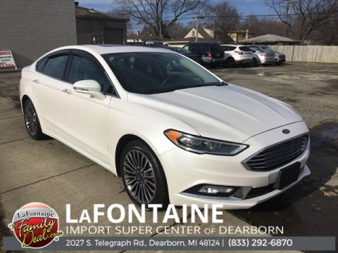 Pre-Owned 2017 Ford Fusion SE 4D Sedan FWD