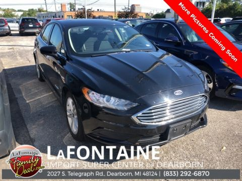 Pre-Owned 2018 Ford Fusion Hybrid SE 4D Sedan FWD