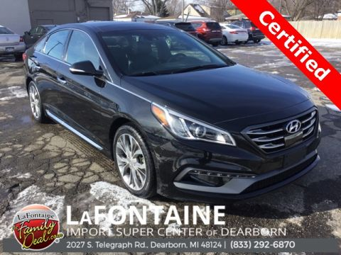 Pre-Owned 2017 Hyundai Sonata Limited 2.0T 4D Sedan FWD