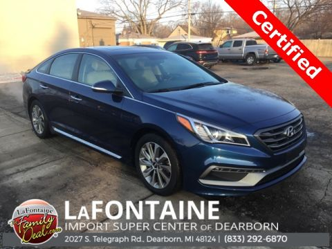 Pre-Owned 2017 Hyundai Sonata Sport 4D Sedan FWD