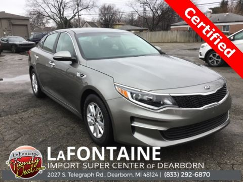 Pre-Owned 2016 Kia Optima LX 4D Sedan FWD