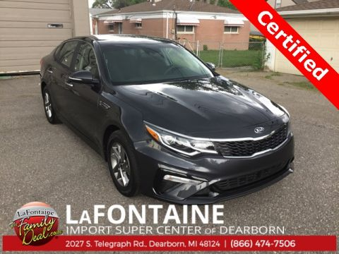 Pre-Owned 2019 Kia Optima LX