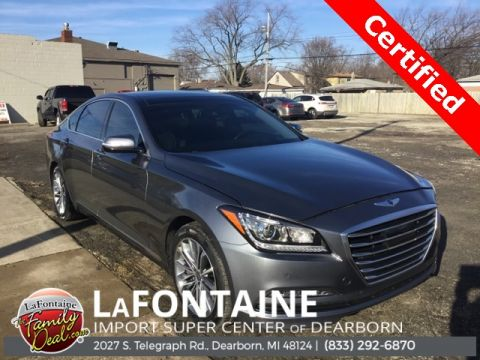 Pre-Owned 2016 Hyundai Genesis 3.8 4D Sedan AWD